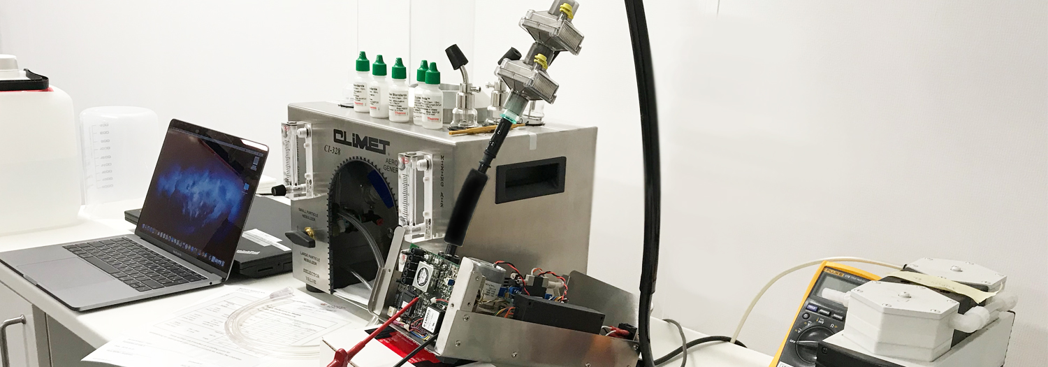 NEW ACCREDITATION FOR PARTICLE COUNTERS
